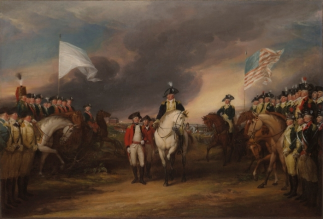 George Washington at Yorktown