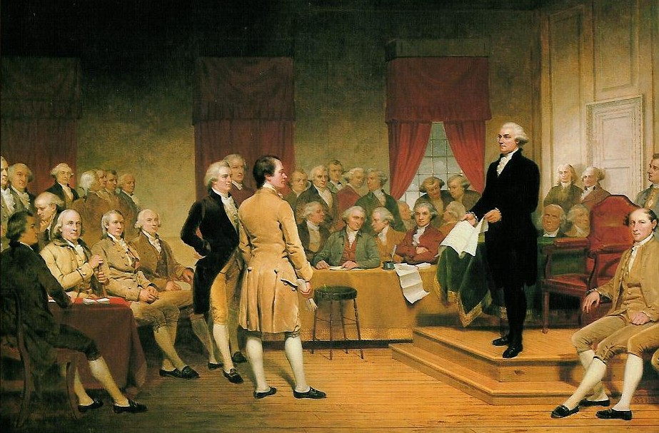 the establishment of the powers of the federal government by george washington alexander hamilton an James madison-checks and balances to limit government power madison and alexander hamilton, washington's it gave the federal government power to.